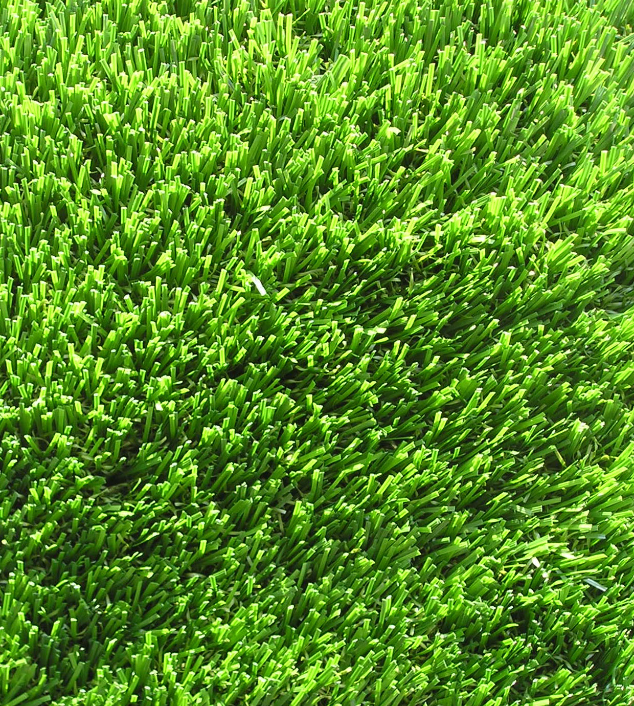 Polyethylene Monofilament Texturized Polypropylene Thatch Synthetic Grass 60 oz Face Weight